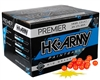 HK Army .68 Caliber Paintballs - Premier - Yellow Fill - 1,000 Rounds