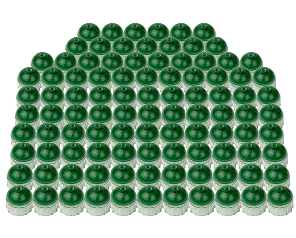 Tiberius Arms First Strike .50 Caliber Paintballs - Clear Shell Green Fill - 100 Rounds