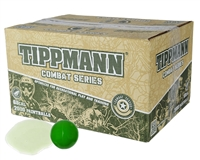 Tippmann .68 Caliber Paintballs - Combat - White Fill - 100 Rounds