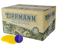 Tippmann .68 Caliber Paintballs - Combat - Yellow Fill - 2,000 Rounds