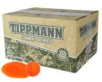 Tippmann .68 Caliber Paintballs - Combat - Orange Fill - 500 Rounds