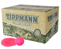 Tippmann .68 Caliber Paintballs - Combat - Pink Fill - 500 Rounds
