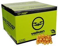 Valken .68 Caliber Paintballs - VPC - Yellow Fill - 2,000 Rounds