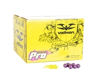 Valken .68 Caliber Paintballs - Redemption Pro - Neon Yellow Fill - 500 Rounds