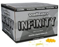 Valken Infinity Paintball Case 1000 Rounds - Yellow Fill