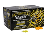 WPN Killa Beez Paintballs ( .68 Caliber )- 500 Count - Yellow Fill