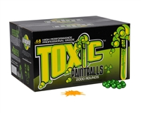WPN Toxic Paintballs ( .68 Caliber )- 500 Count - Orange Fill