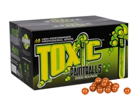 WPN Toxic Paintballs ( .68 Caliber )- 500 Count - White Fill