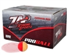 ZAP Xtreme .68 Caliber Paintballs - Proball - White Fill - 100 Rounds