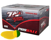ZAP Xtreme .68 Caliber Paintballs - Proball - Yellow Fill - 2,000 Rounds