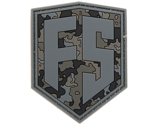 First Strike Rubber/Velcro Patch - Shield - Urban