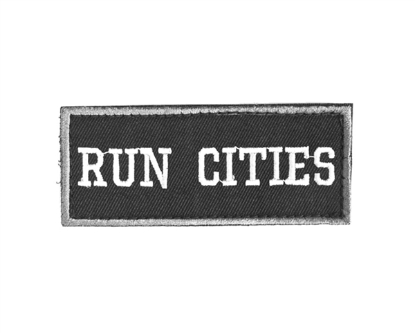 HK Army Run Cities Patch w/ Velcro Backing