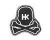 HK Army Skull Patch w/ Velcro Backing