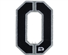 Push Division Velcro Patch - Number 0 - Grey