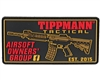Tippmann Velcro Morale Patch - Airsoft Owners - Black