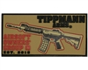 Tippmann Velcro Morale Patch - Airsoft Owners - Tan