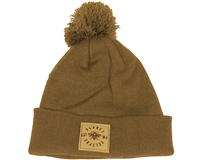 Planet Eclipse Beanie - Worker Pom - Caramel