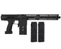 Planet Eclipse EMEK MG100 (PAL ENABLED) Mag Fed Paintball Marker w/ 2 Additional (20 Round) Magazines - Black