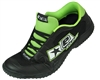 Planet Eclipse/Exalt Paintball Cleats - Black/Green