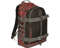 Planet Eclipse GX2 Backpack - Gravel - Fighter Red