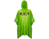 Planet Eclipse Poncho - Lime Green