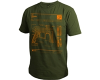 Planet Eclipse T-Shirt - CS1 - Olive