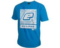 Planet Eclipse T-Shirt - Icon - Blue