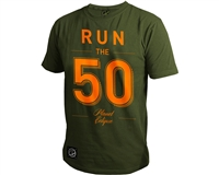 Planet Eclipse T-Shirt - Run - Olive