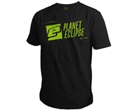 Planet Eclipse T-Shirt - Stencil - Black