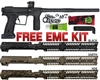 Planet Eclipse .68 Cal Etha 2 Paintball Marker with Free EMC Kit - Black