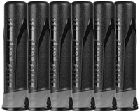 (6-Pack) HK Army Push Button 165 Round Pods - Ninja/Grey/Black
