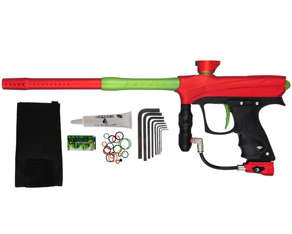 Proto Maxxed Rize Paintball Gun - Red/Green