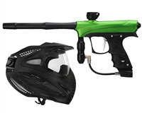 Proto Rize Marker With Dye SE Single Pane Goggles - Lime