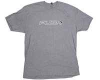 Push Paintball T-Shirt - Traditional - Grey w/ White