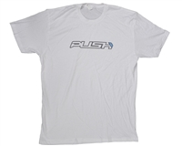 Push Paintball T-Shirt - Traditional - White w/ Black