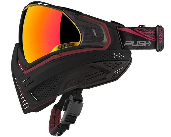 Push Unite Goggles w/ Revo Lens - Black/Red