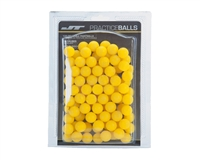 JT Rubber Practice Balls - Reball - 100 Rounds - Yellow
