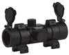 Valken 1x30ST Red Dot Sight w/ Weaver Mount - Black