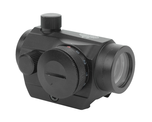 Valken 1x22 Red/Green/Blue Dot Sight w/ Weaver Mount - Black