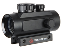 Warrior 1x40mm Tactical Red Dot Sight