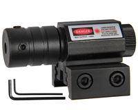 Warrior Paintball Tactical Rail Mounted Laser - Red