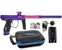 XLS SP Shocker Paintball Gun - Purple w/ Pink Accents