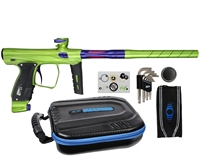 XLS SP Shocker Paintball Gun - Slime w/ Purple Accents