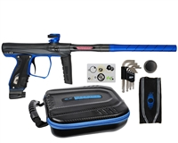 SP Shocker XLS Paintball Gun - Black/Blue/Black