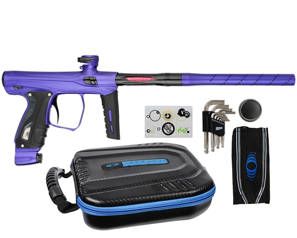 SP Shocker XLS Paintball Gun - Purple/Purple/Black
