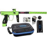 SP Shocker XLS Paintball Gun - Slime/Slime/Black