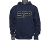 SP Logo Pull Over Hooded Sweatshirt - Blue