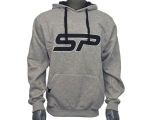 SP Logo Pull Over Hooded Sweatshirt - Grey