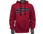 SP Logo Pull Over Hooded Sweatshirt - Red