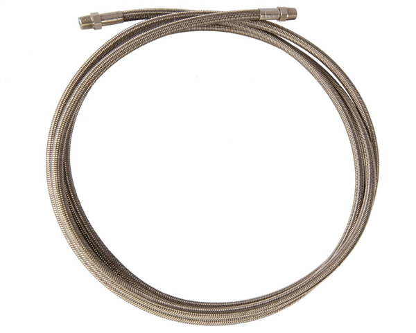 Stainless Steel Braided Hose - 8 Foot